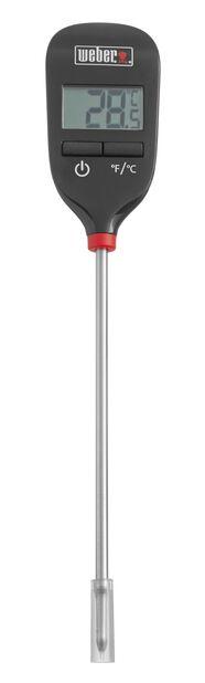 Digitalt termometer Weber , Svart