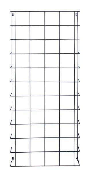 Vegg-espalier, Høyde 165 cm, Svart
