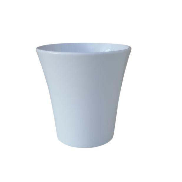 Potte Harmoni, Ø12 cm, Hvit