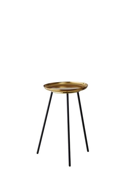 Pidestall Tindra , Høyde 45 cm, Messing