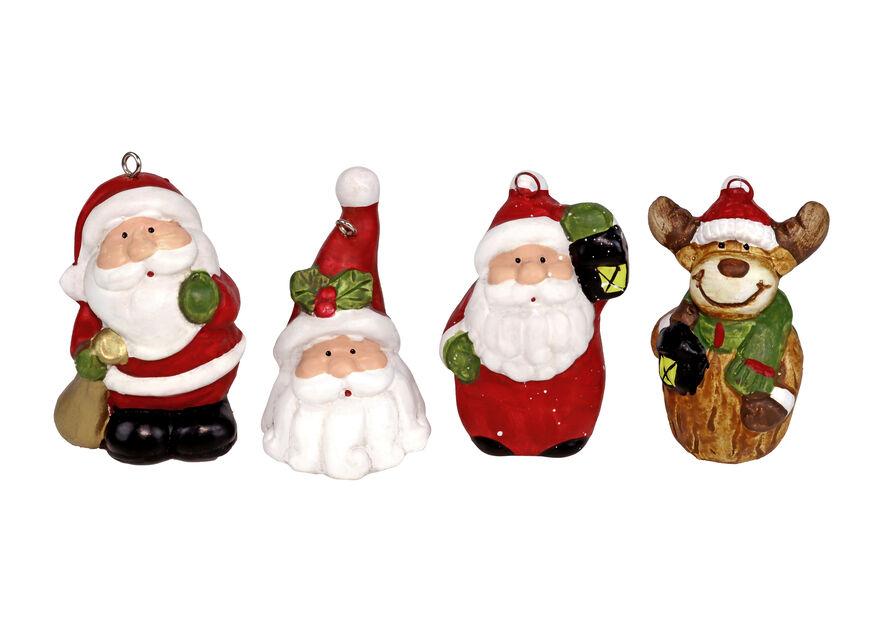 Julepynt , Høyde 5 cm, Flere farger