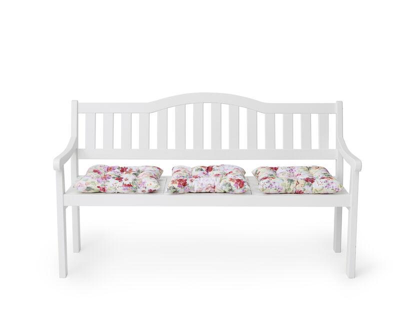 Benk Sara 152 x 60 x 89,5 cm, hvit