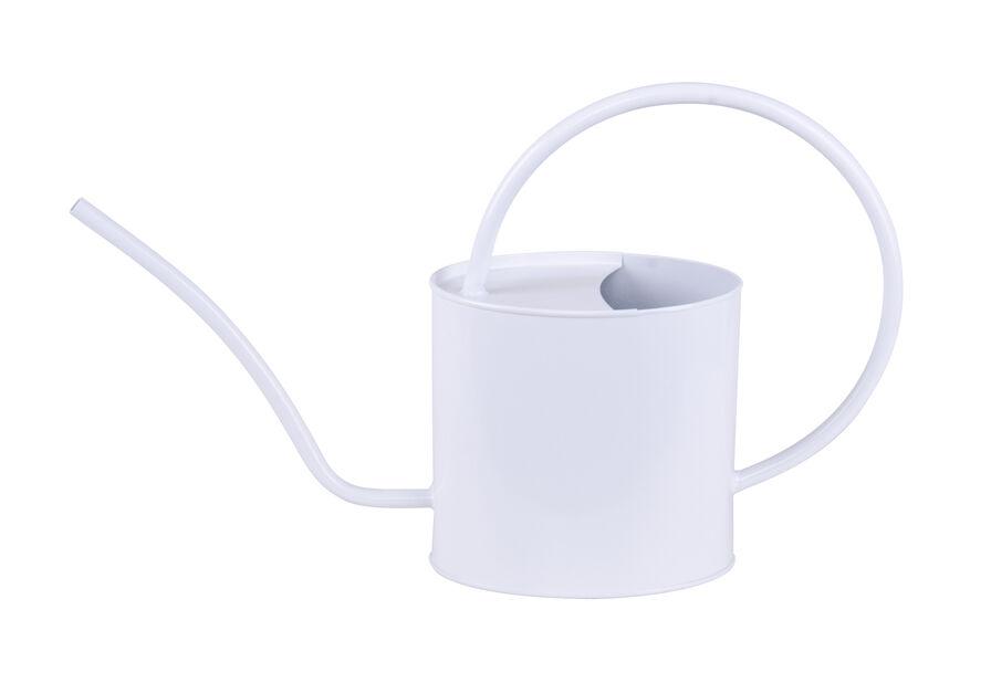 Vannkanne 2 liter oval hvit