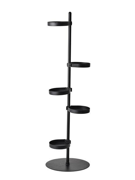 Pidestall Tilia, Høyde 103 cm, Svart