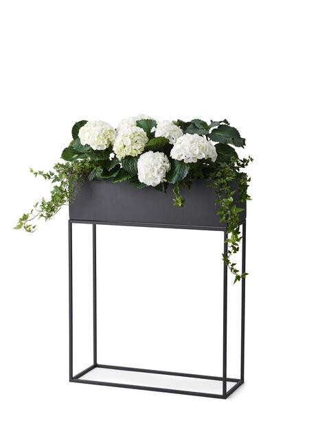 Nathan blomsterkasse  , Lengde 55 cm, Svart