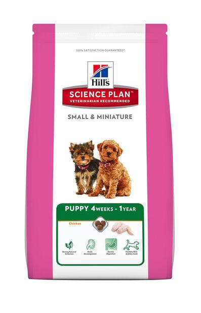 Sp Puppy Small & Mini Chicken 1,5 Kg, 1.5 kg, Hvit