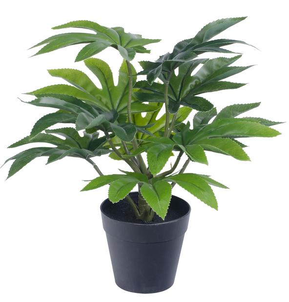 Grønn kunstig planteoppsats