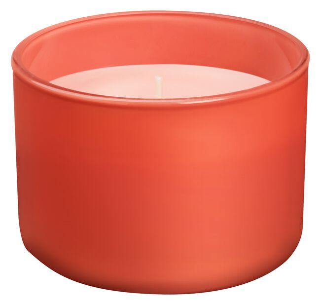 Duftlys True love, Bredde 10 cm, Rød
