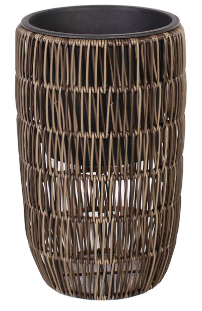 Potte Marcia hög Ø30 cm beige