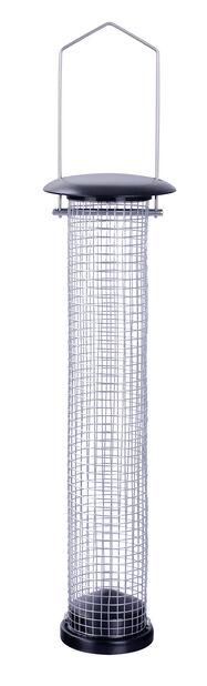 Fuglemater nøtter, Høyde 38 cm, Svart