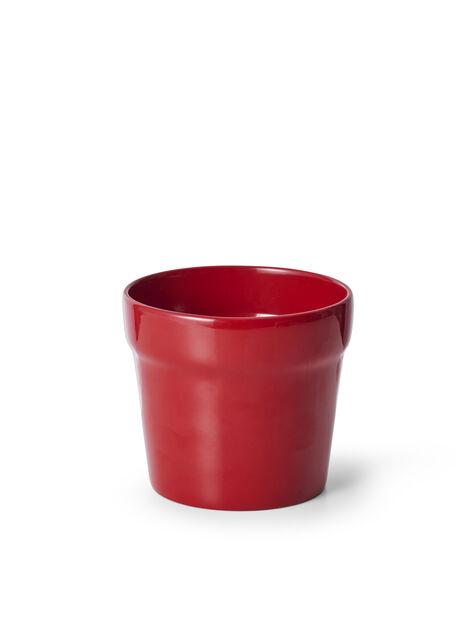 Potte Lena rød D 14 cm
