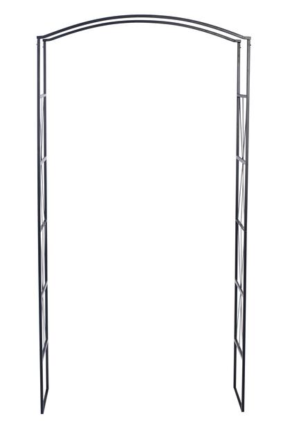Roseportal, Høyde 220 cm, Svart