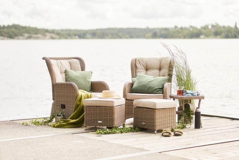 Sofagruppe Lotus Duo med reclinerfunksjon