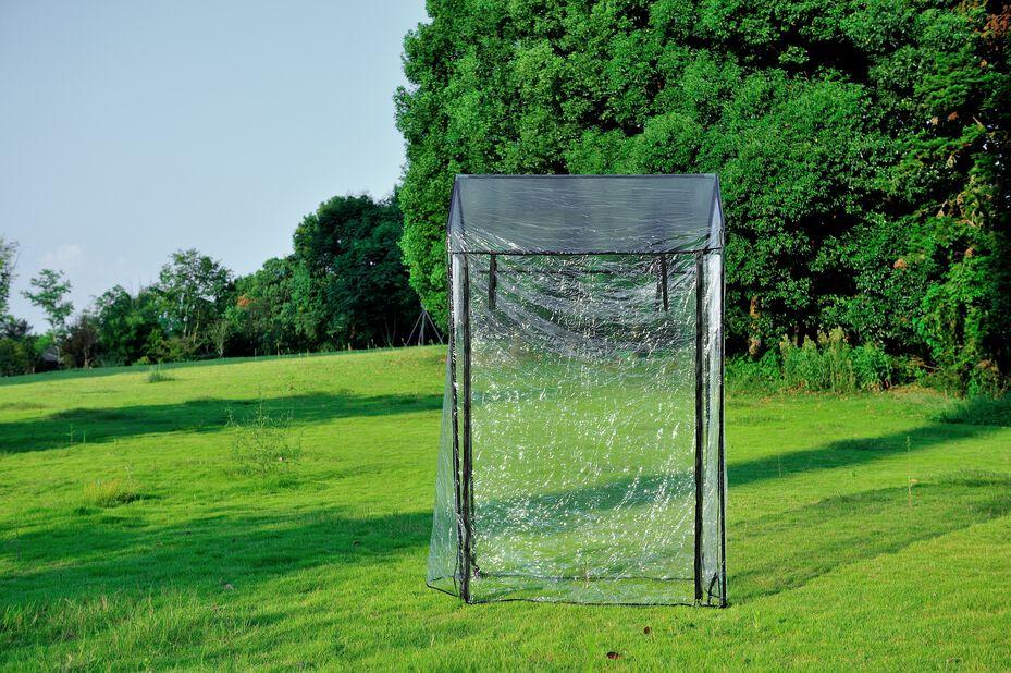 Drivhus til plantekasse, Lengde 120 cm, Transparent