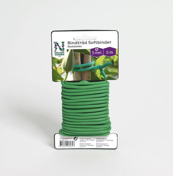 Oppbinding Softbinder, Lengde 5 m, Grønn