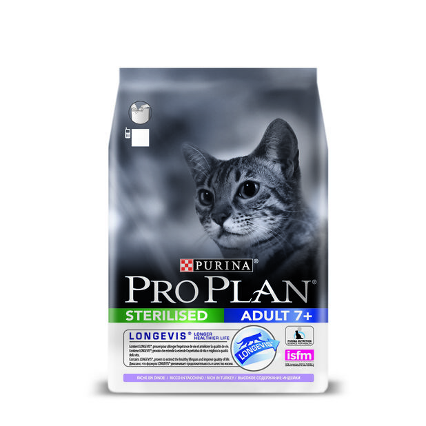 Pro plan sterilised cat 7+- Turkey 10kg, 10 kg