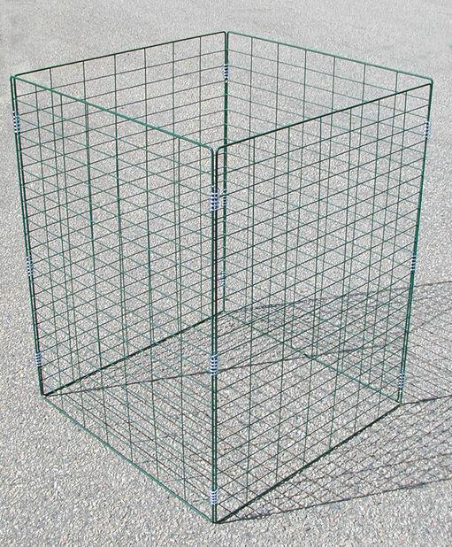 Kompostgitter, Høyde 90 cm, Grønn