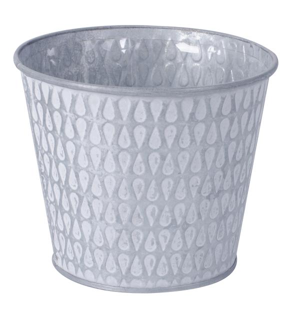 Potte Mimmi sink, hvit D 12,3 cm