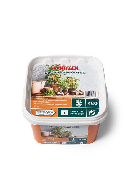 Gjødsel premium grønnsaker , 2 kg, Flerfarget