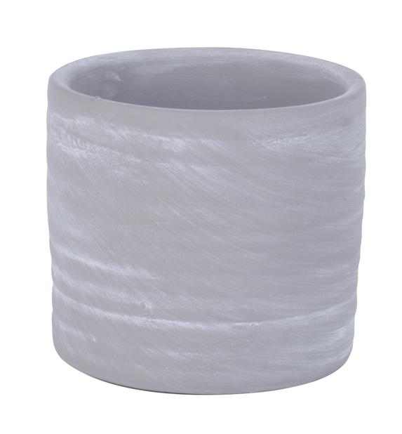 Potte Nicke grå D 7,5 cm