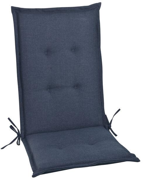 Pute Linwood 118x48x4,5 cm, marineblå