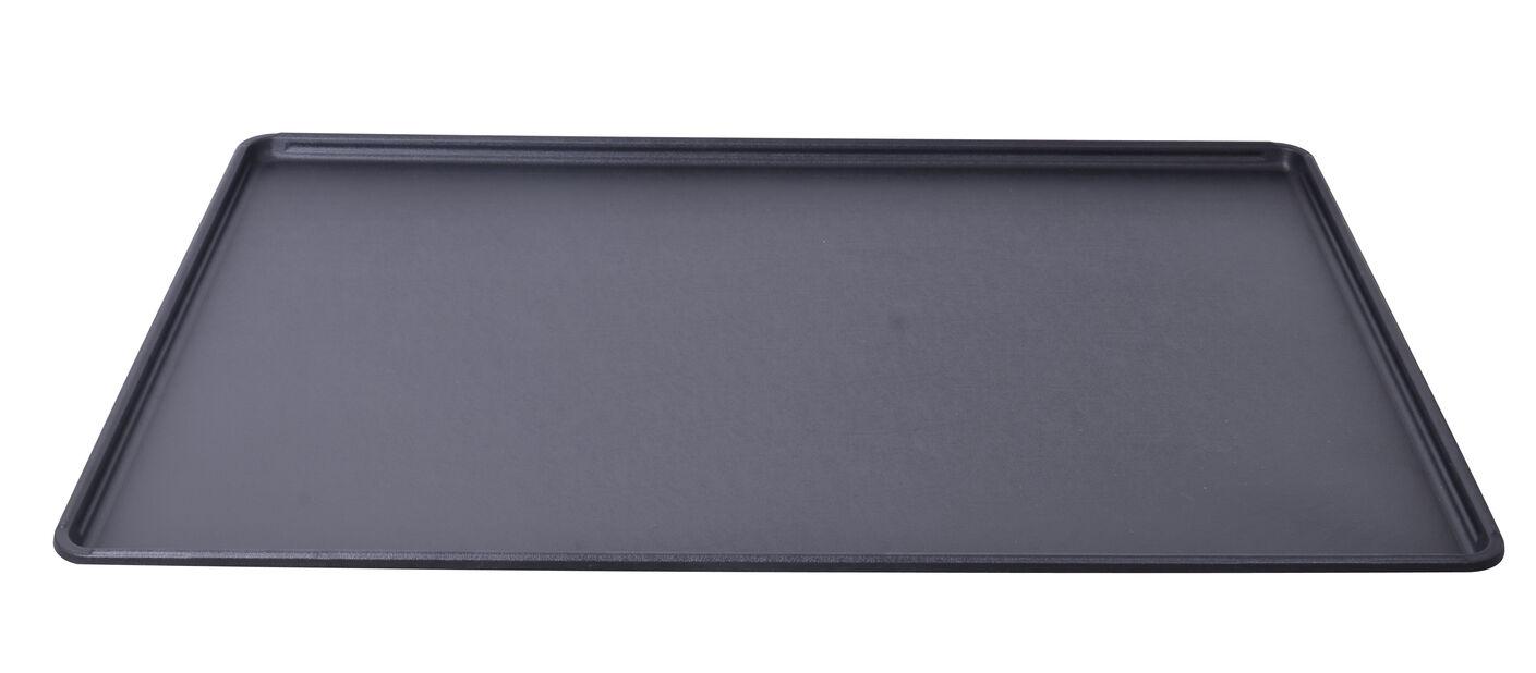 Brett planteboks S, Lengde 60 cm, Svart