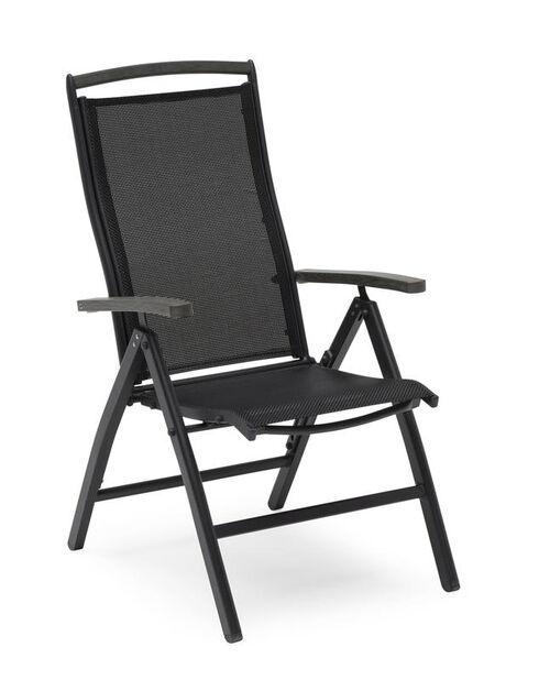 Stol Ammi 7-pos svart 61x75x110 cm