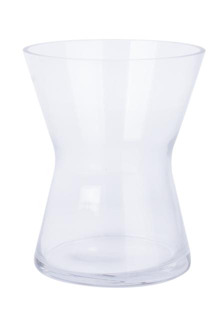 Vase Bonnie, Høyde 18 cm, Transparent