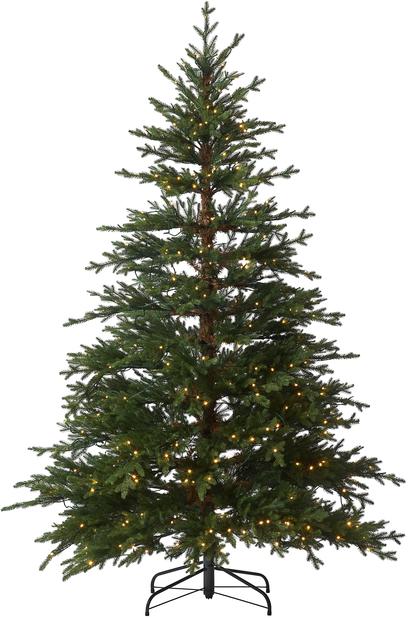 Kunstig juletre Rondane med lys 210 cm