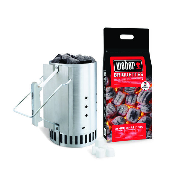 Rapidfire� Chimney Starter Set, Svart