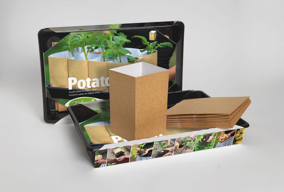 PlantStart Potet-sett, Brun