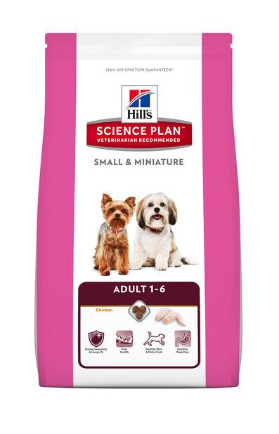 Sp Canine Adult Small & Mini Chicken 3 Kg, 3 kg, Hvit