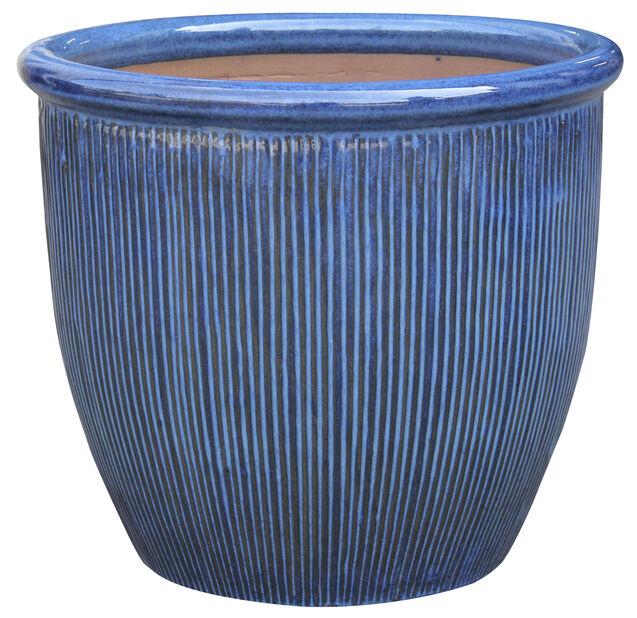Potte Balder, Ø35 cm, Blå