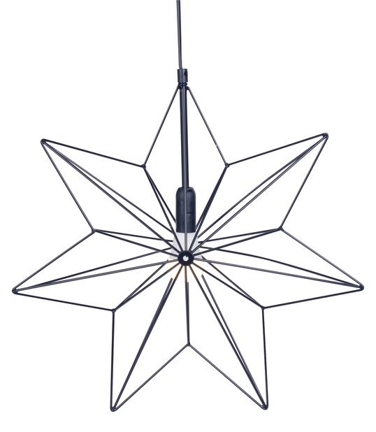 Metallstjerne Vibeke, Svart