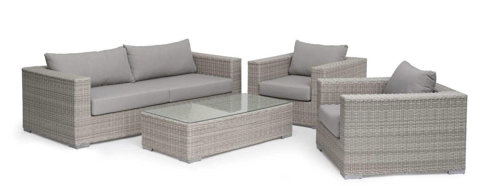 Sofagruppe Hamilton , 5 sitteplatser, Grå
