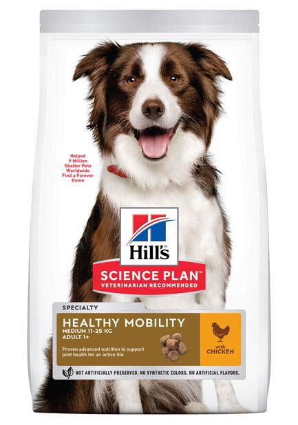 Hill´s SP Healthy Mobility Medium Adult Hundefôr med kylling, 2.5 kg, Hvit