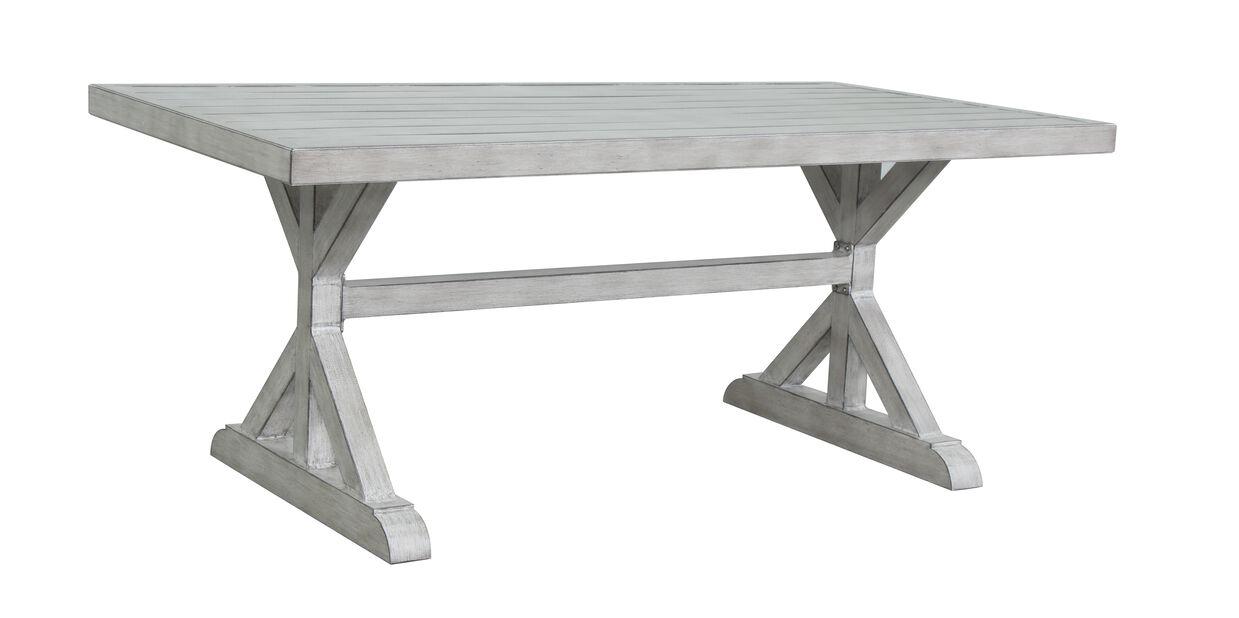 Spisebord Paris, Lengde 180 cm, Grå