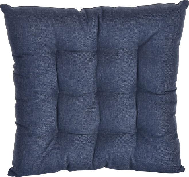 Pute Linwood 40x40 cm, marineblå