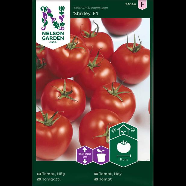 Tomat 'Shirley', Flerfarget