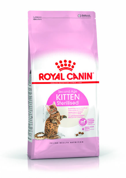Royal Canin Sterilised Kitten, 2 kg