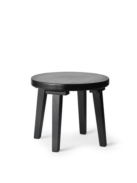 Pidestall Evelina, Høyde 30 cm, Svart