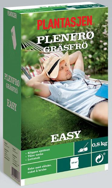 Gresskant Easy, 800 g, Grønn