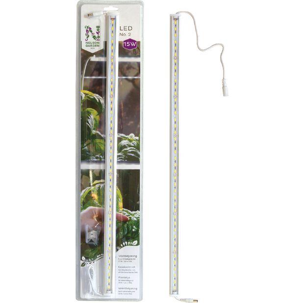 Plantelys LED No.2 60 cm 15W, Lengde 60 cm