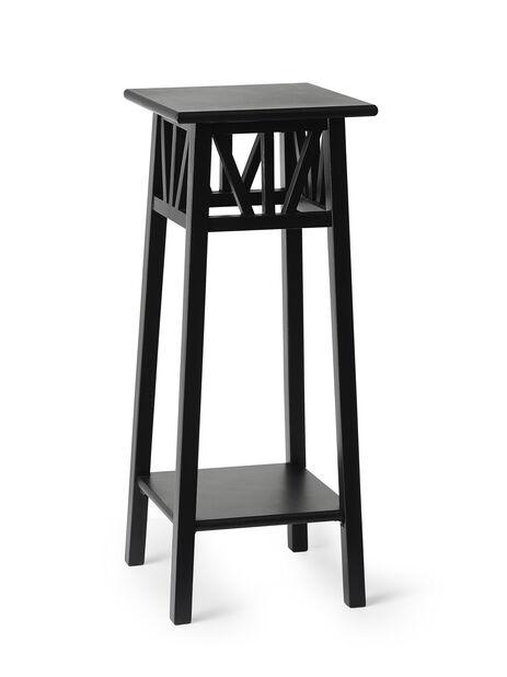 Pidestall Elsa, Høyde 70 cm, Svart