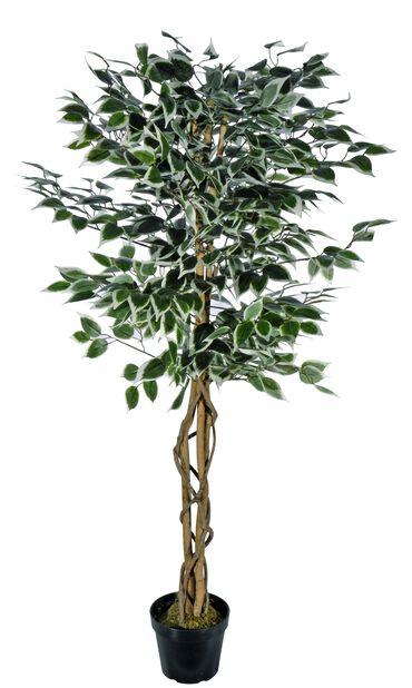 Fikentre kunstig, Høyde 140 cm, Sølv