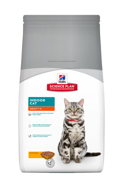 Feline Adult Indoor Cat 1,5 Kg, 1.5 kg, Hvit