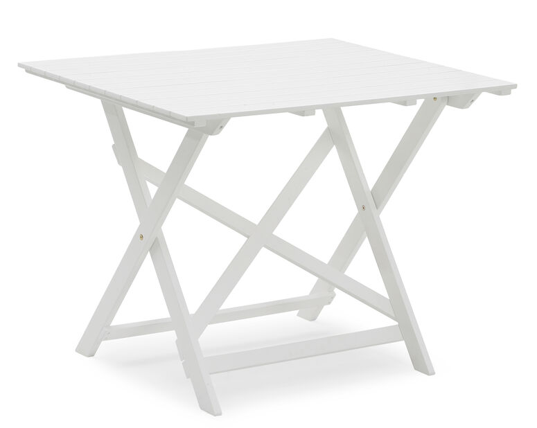 Balkongbord Malva, Lengde 95 cm, Hvit