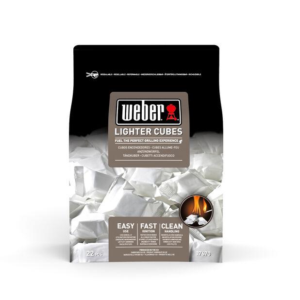 Weber Lighter Cubes, Svart