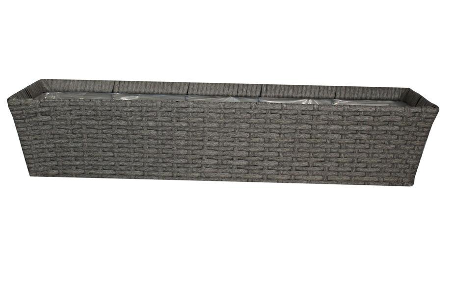 Balkongkasse Frankfurt 72cm grå