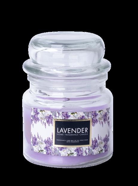 Duftlys Lavendel, Høyde  8.6 cm, Lilla